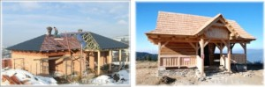 Řemesla, stavba domů