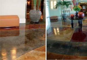 Mramorované podlahy